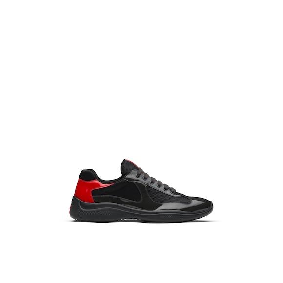 Prada America's Cup 漆皮和尼龙运动鞋 3