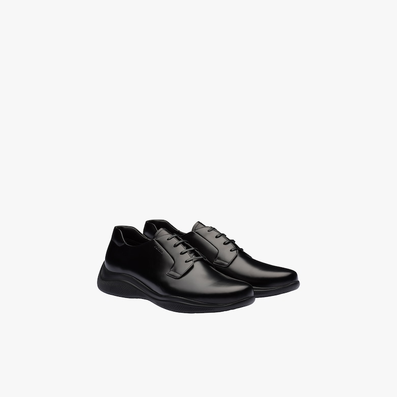 Prada Brushed leather shoes - Man