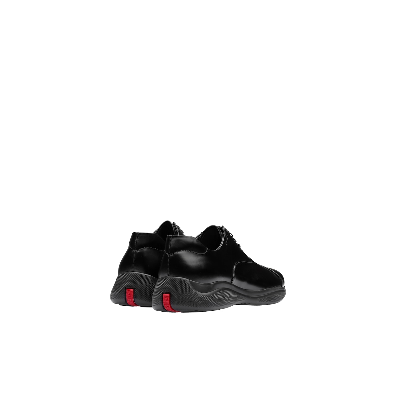 Prada Brushed leather Oxford shoes 4