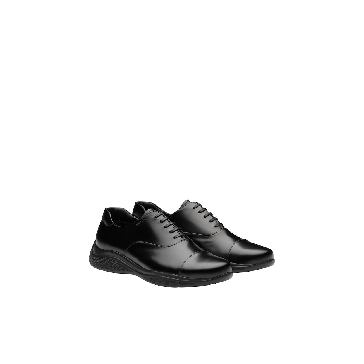 Prada Brushed leather Oxford shoes 1