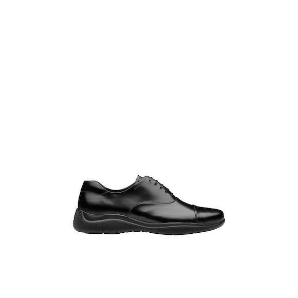 Prada Brushed leather Oxford shoes 3