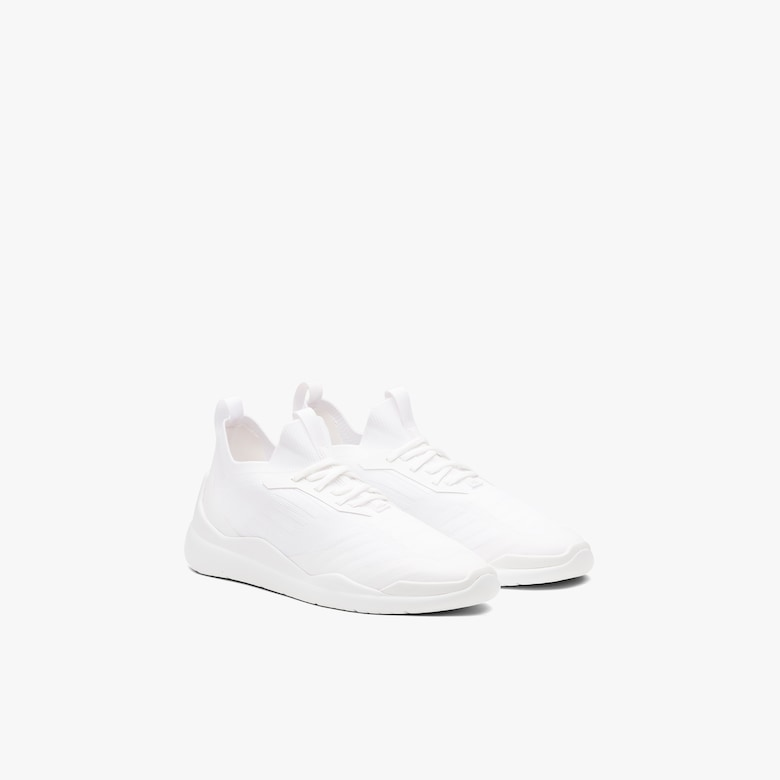 Sneakers Linea Rossa in tessuto knit