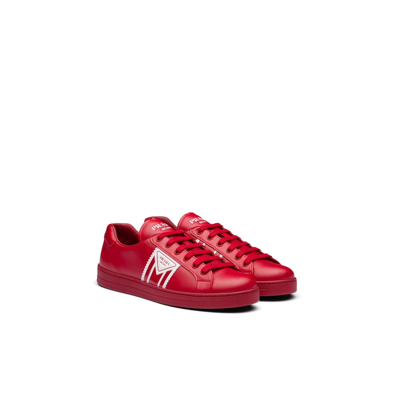 Prada 皮革运动鞋 1