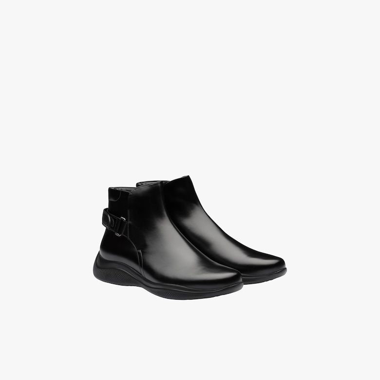 Prada Brushed leather ankle boots - Man