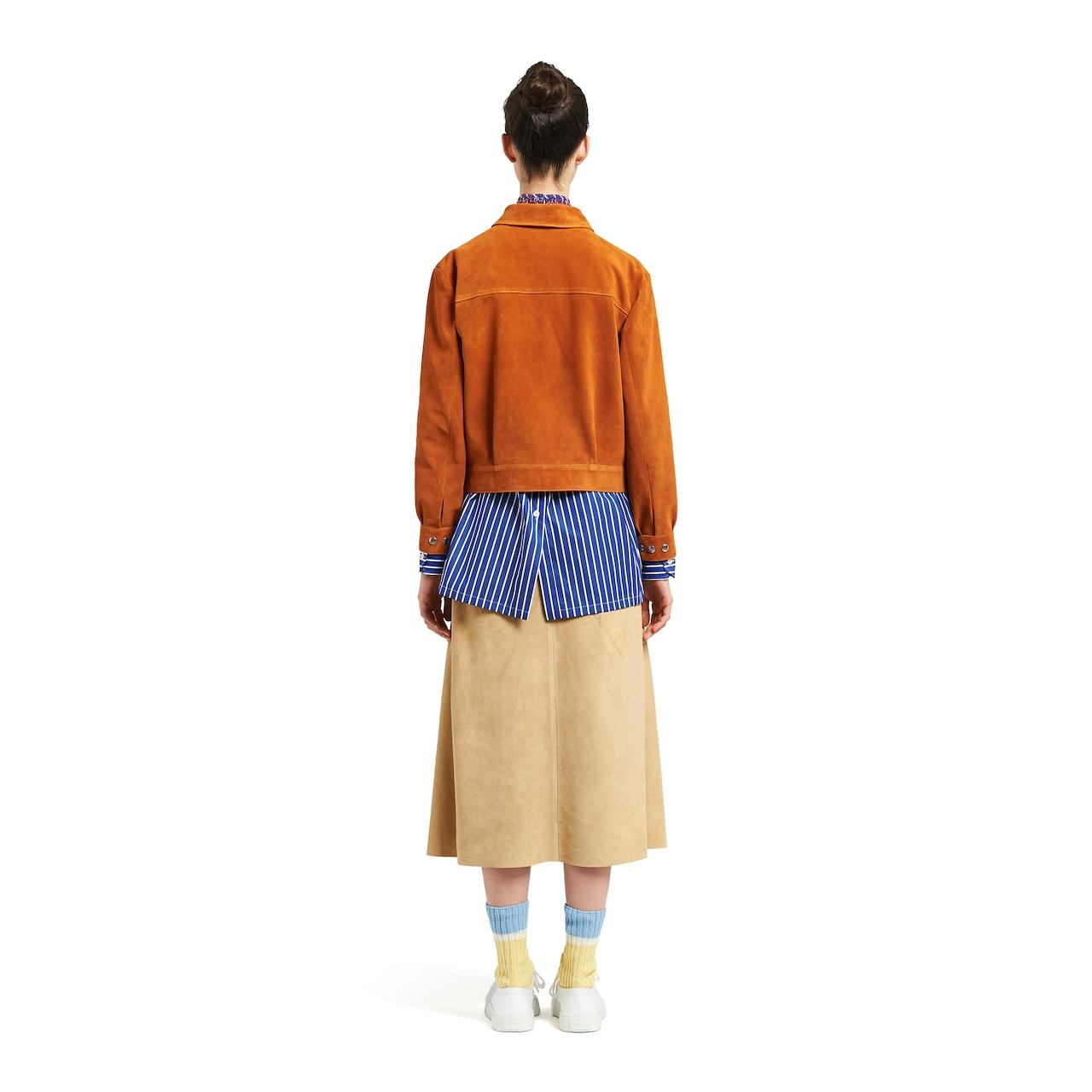 Prada Suede jacket 4