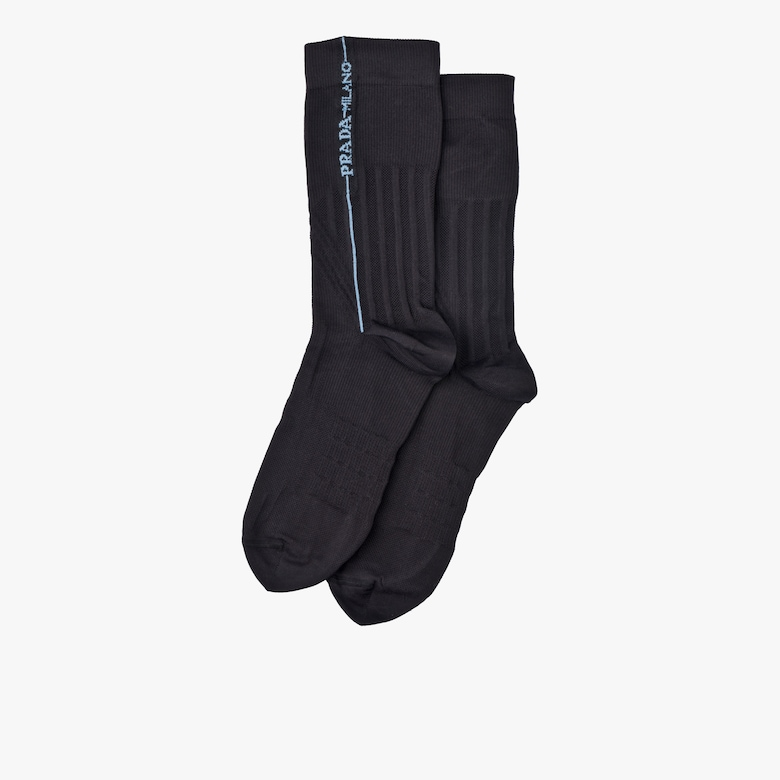Technical nylon socks