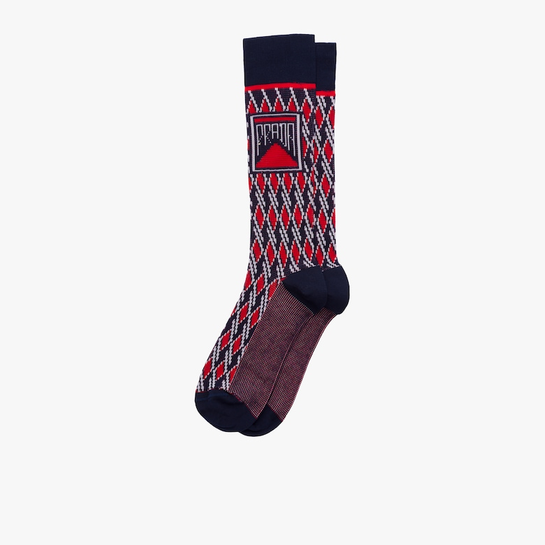 Cotton jacquard socks