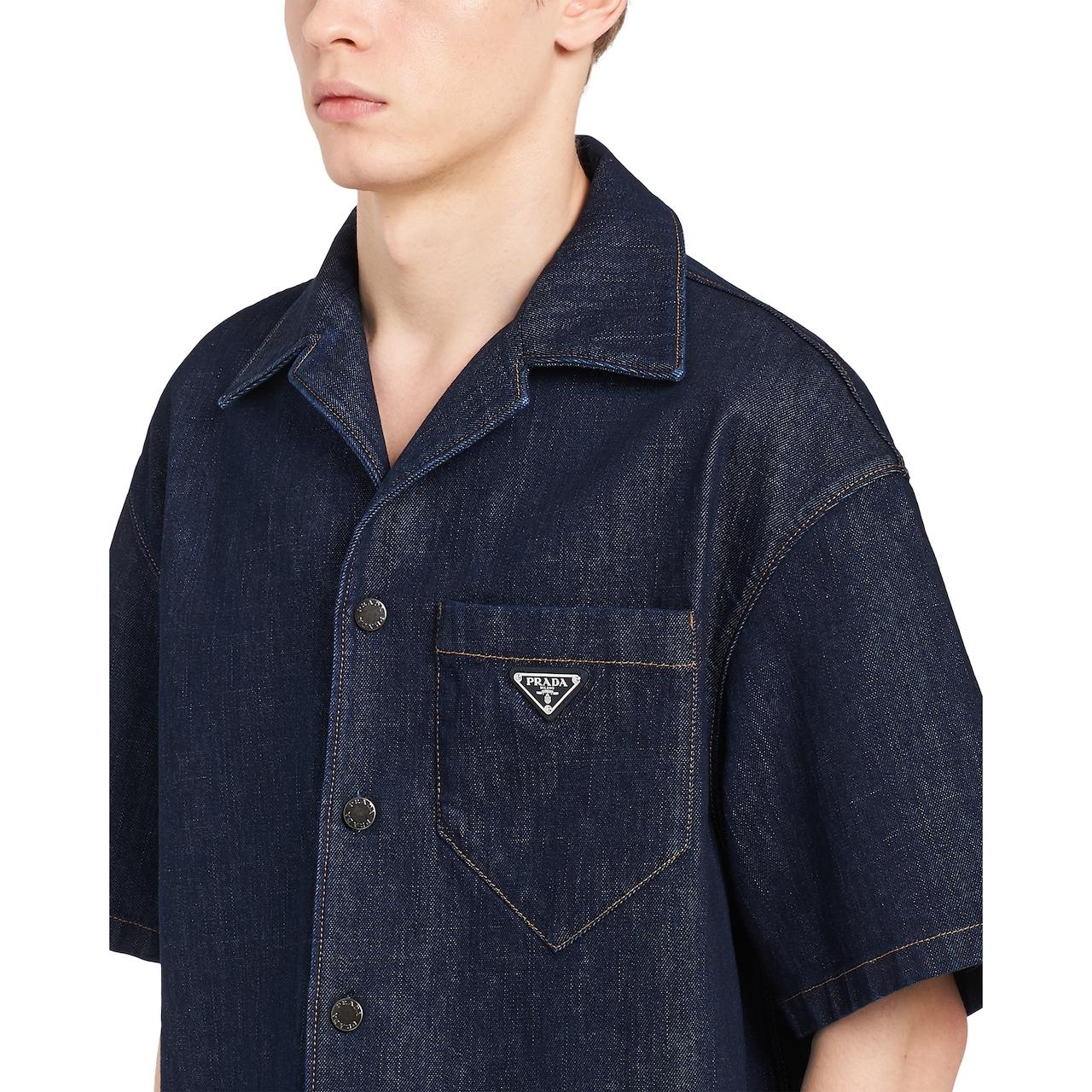 Prada Denim shirt 5