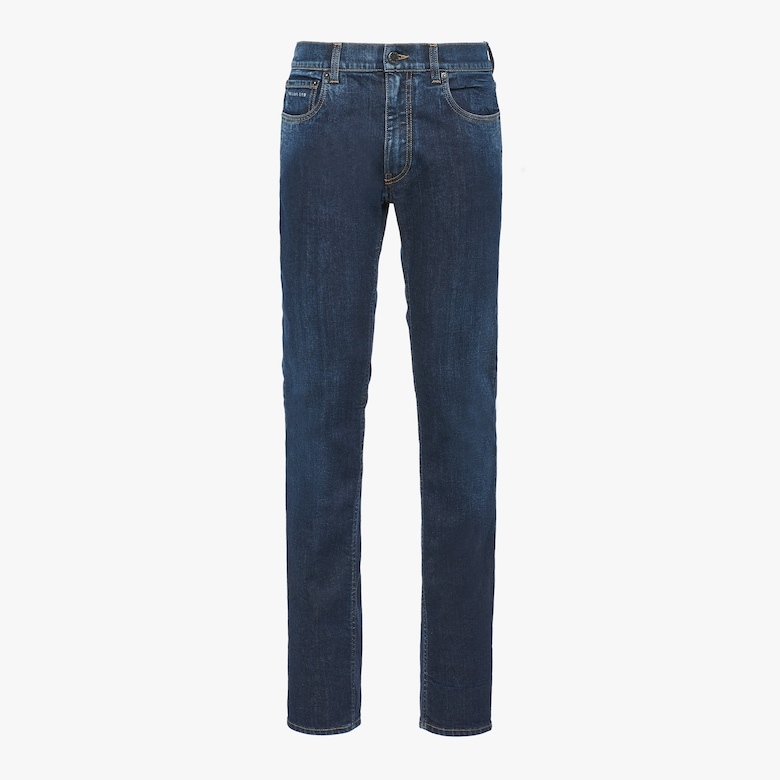 New Comfort Soft Jeans aus Washed Denim