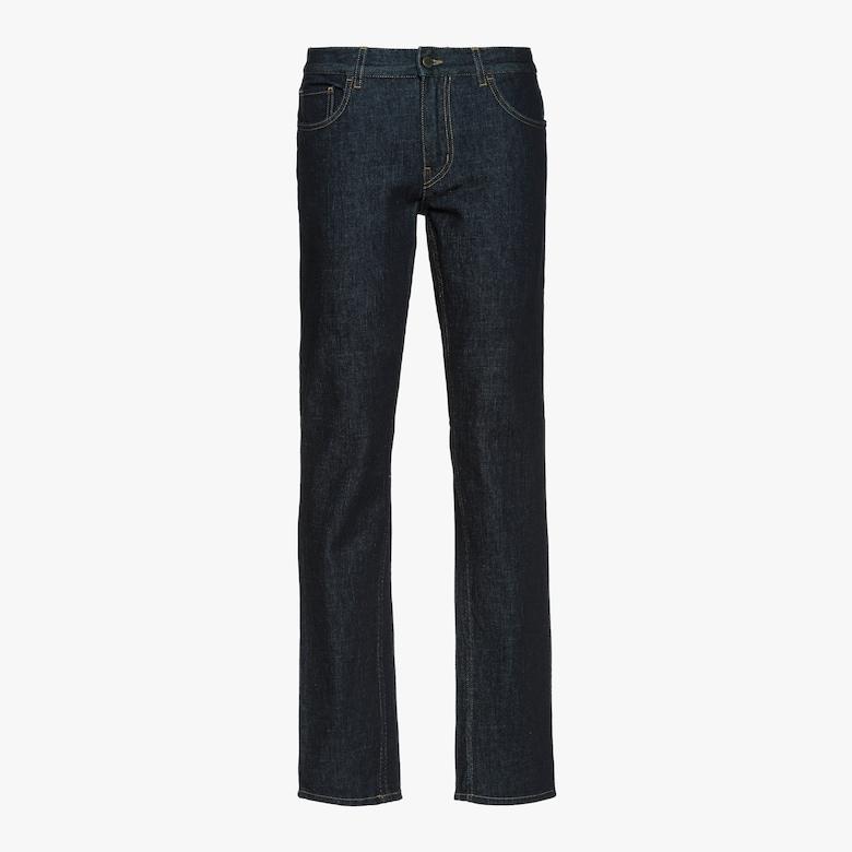 Five-pocket denim trousers