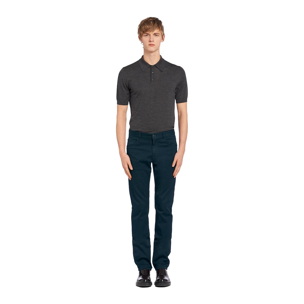 Prada 五袋款牛仔裤 2