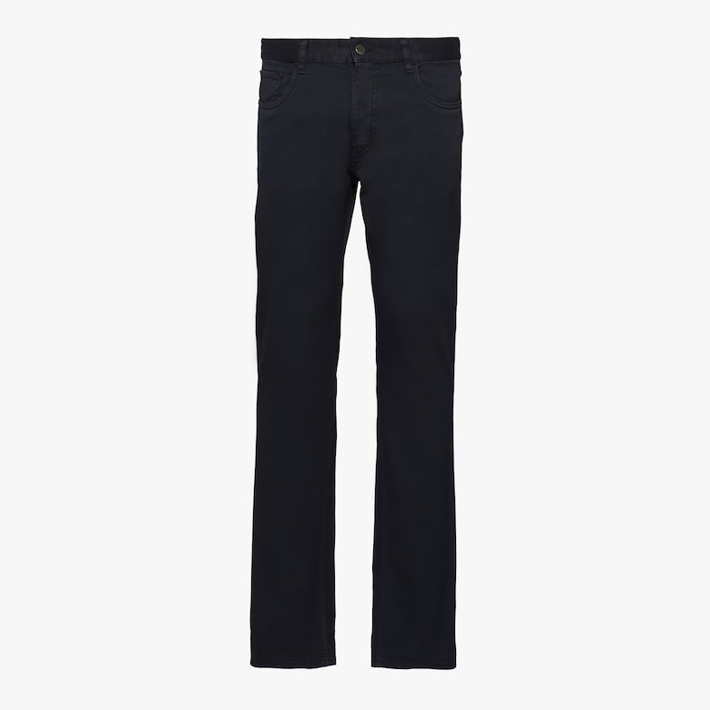 Stretch drill trousers