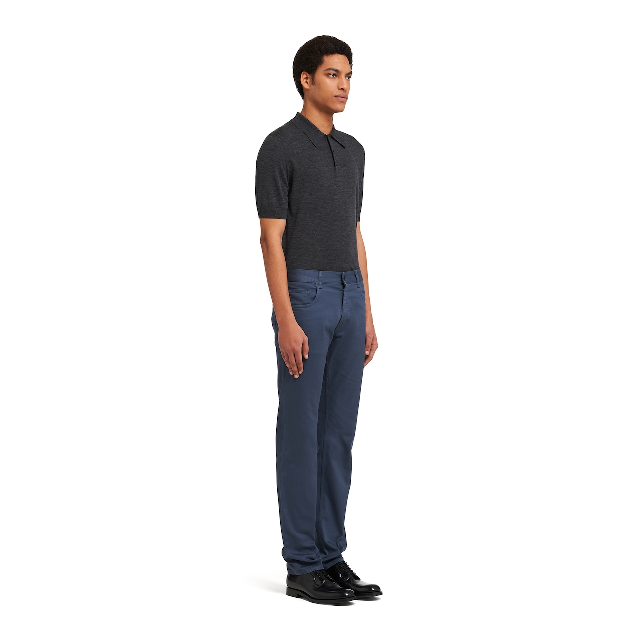 Stretch drill trousers 3