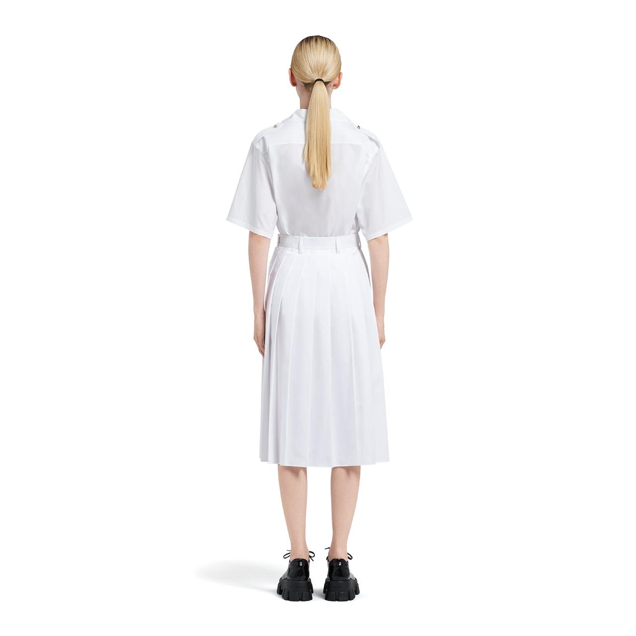 Egyptian poplin skirt