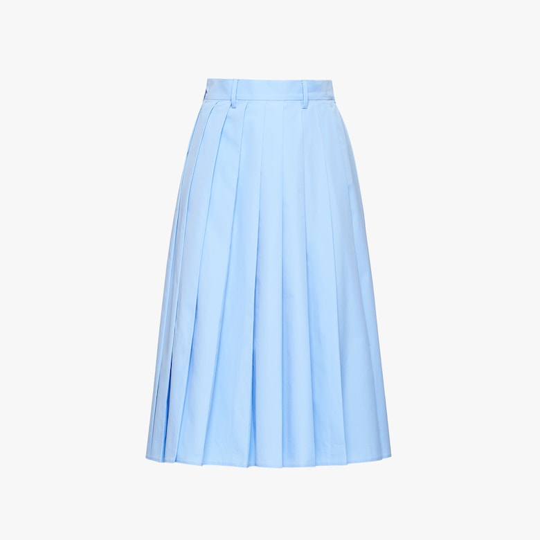 Egyptian poplin skirt