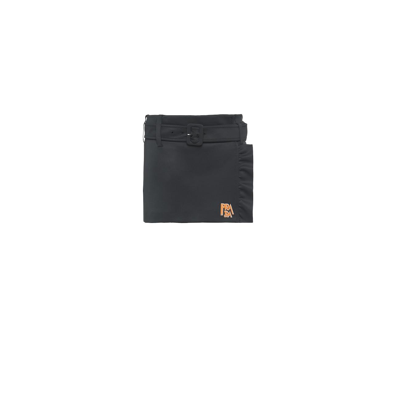 Technical fabric skirt