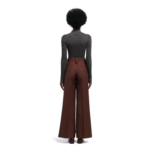 Prada Kid mohair trousers 4