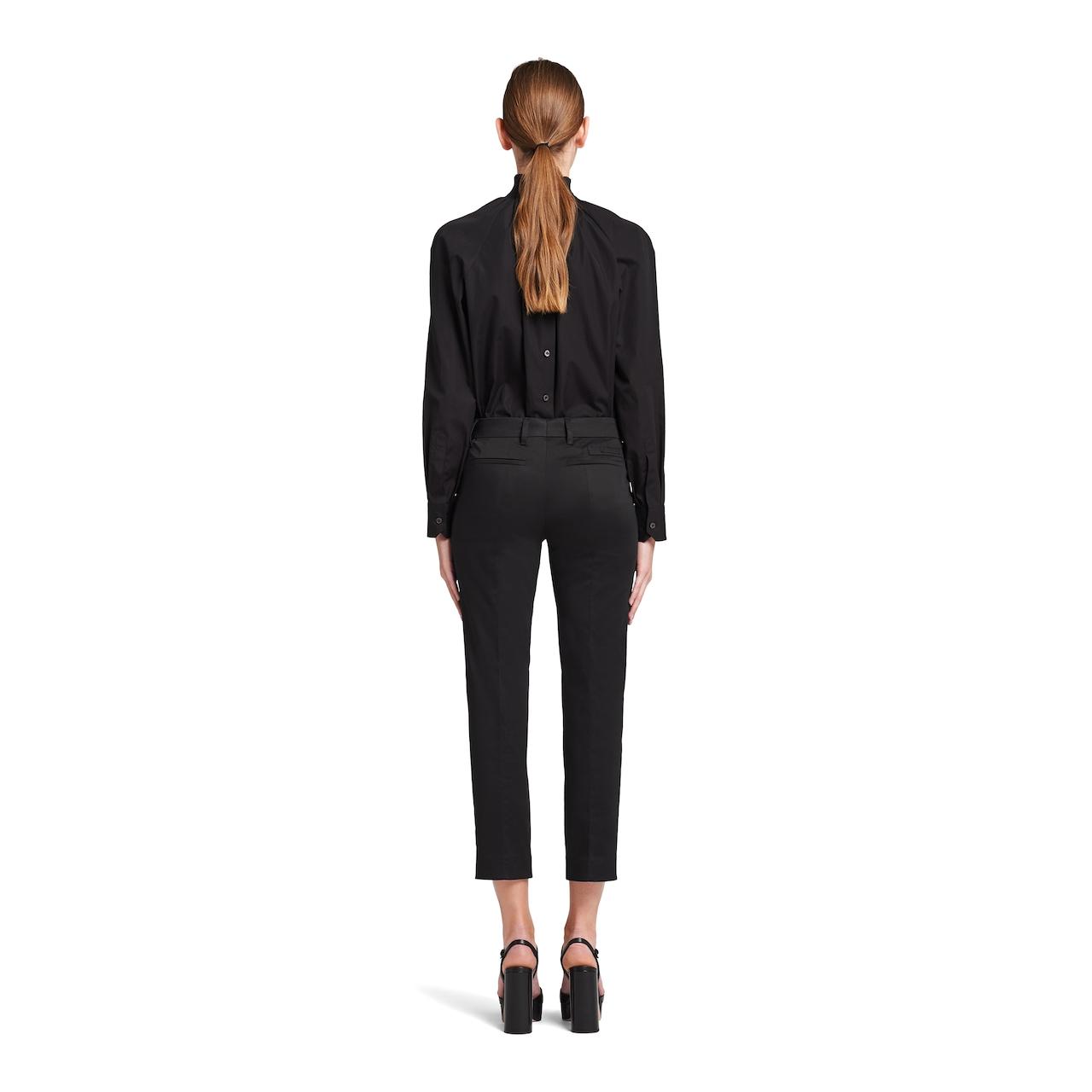 Prada Stretch sateen trousers 4