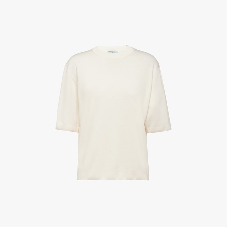 Combed wool T-shirt