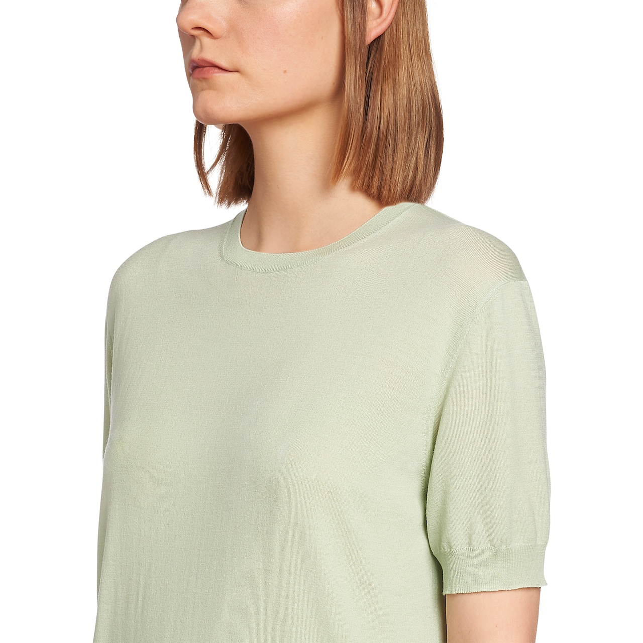 Worsted wool T-shirt