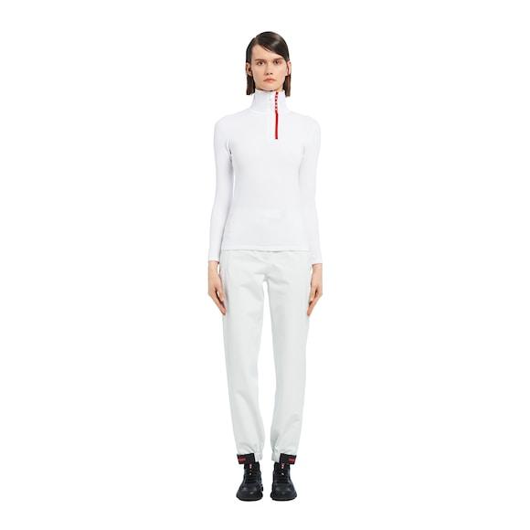 Prada 尼龙高领毛衫 3