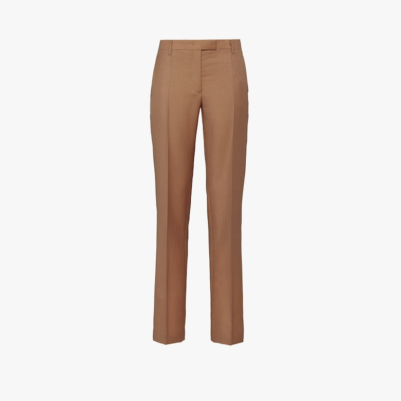 Kid mohair trousers