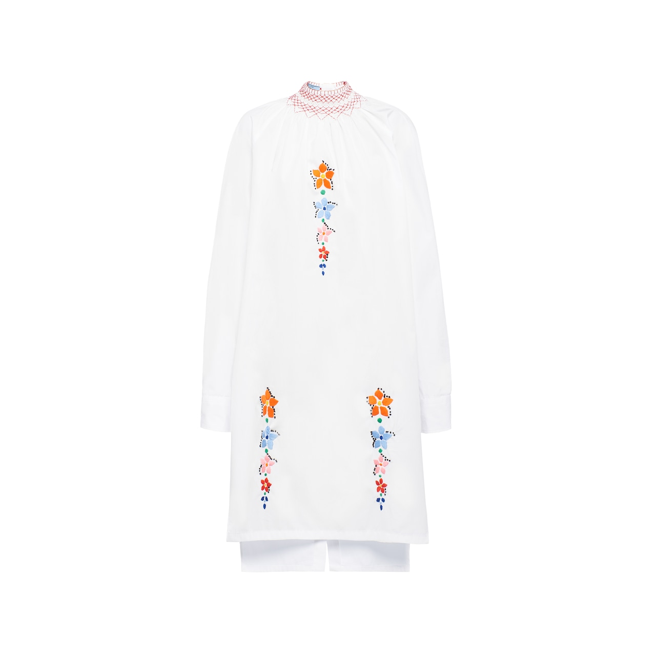 Prada Egyptian cotton poplin dress 1