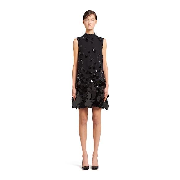 Prada Satin Sablé dress with sequins 3