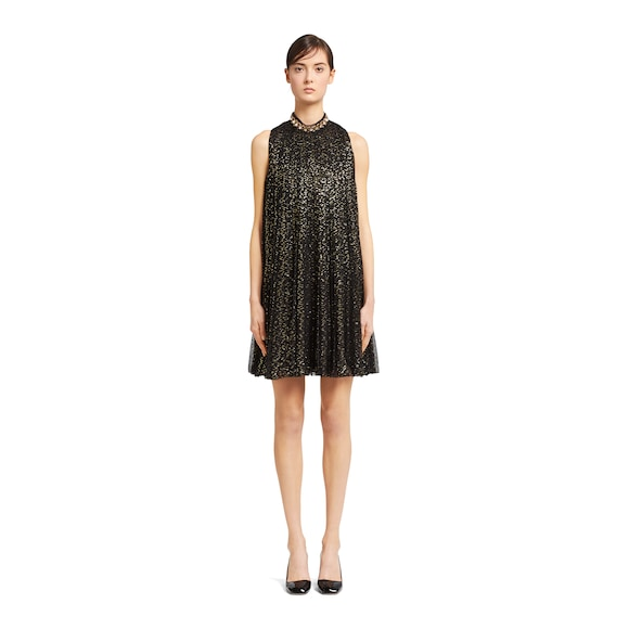 Prada Chiffon dress with crystal embroidery 3