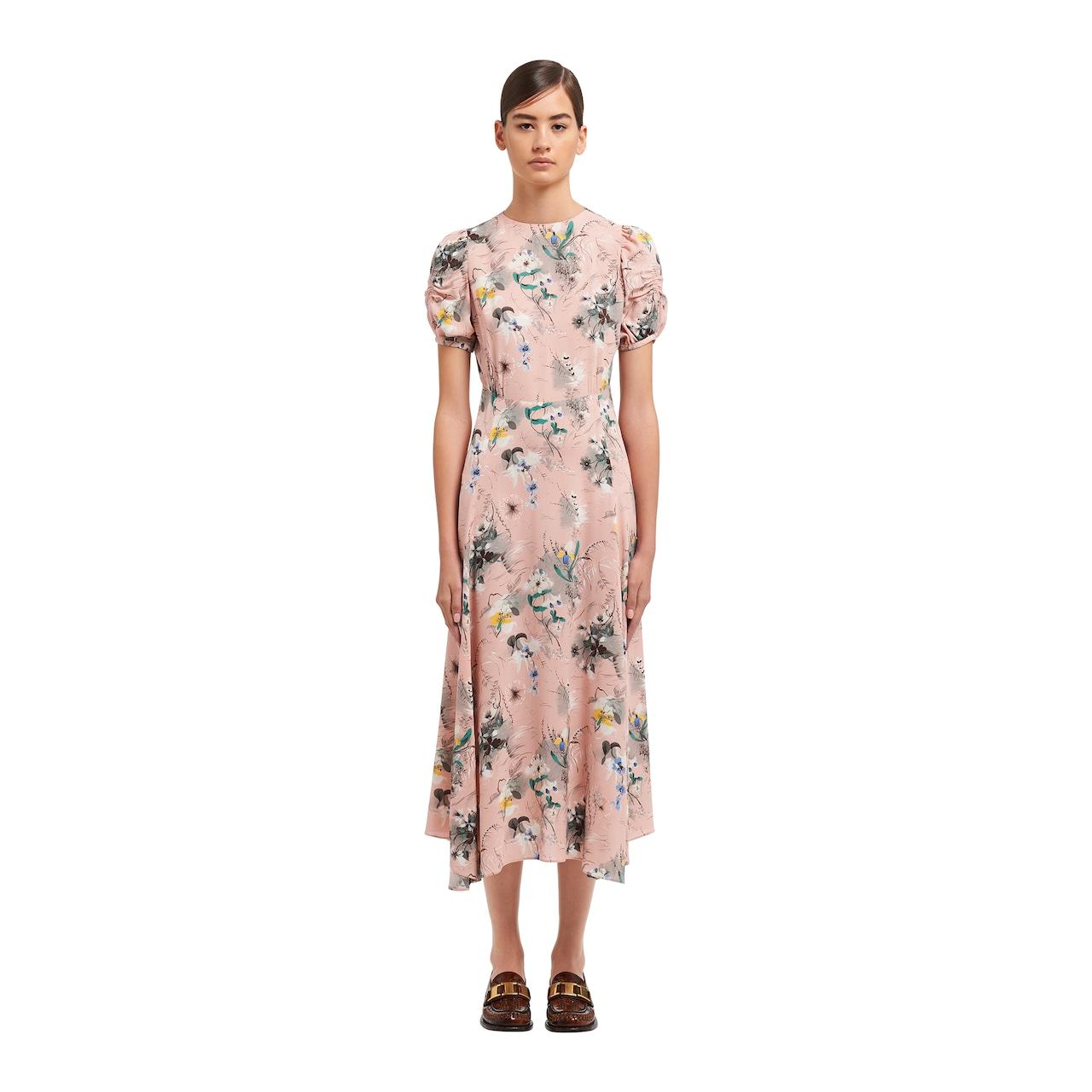 Prada Light sablé dress 2