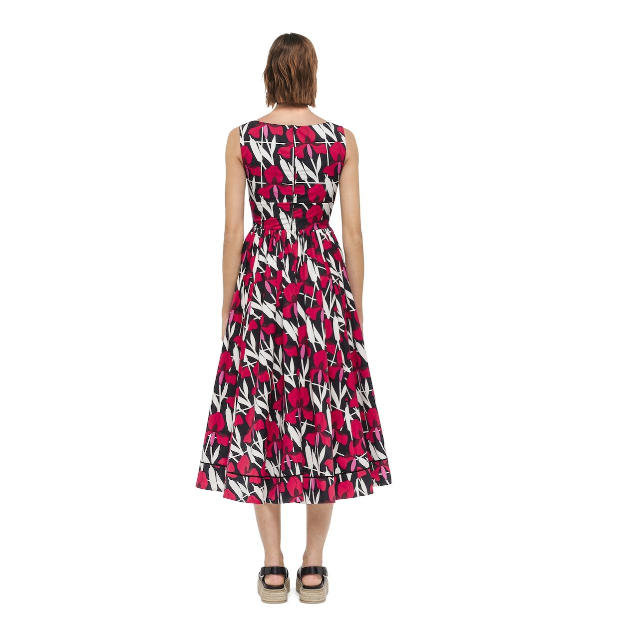 Prada Printed poplin dress 4