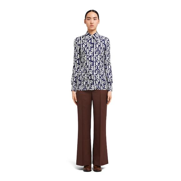 Prada Silk twill blouse 3