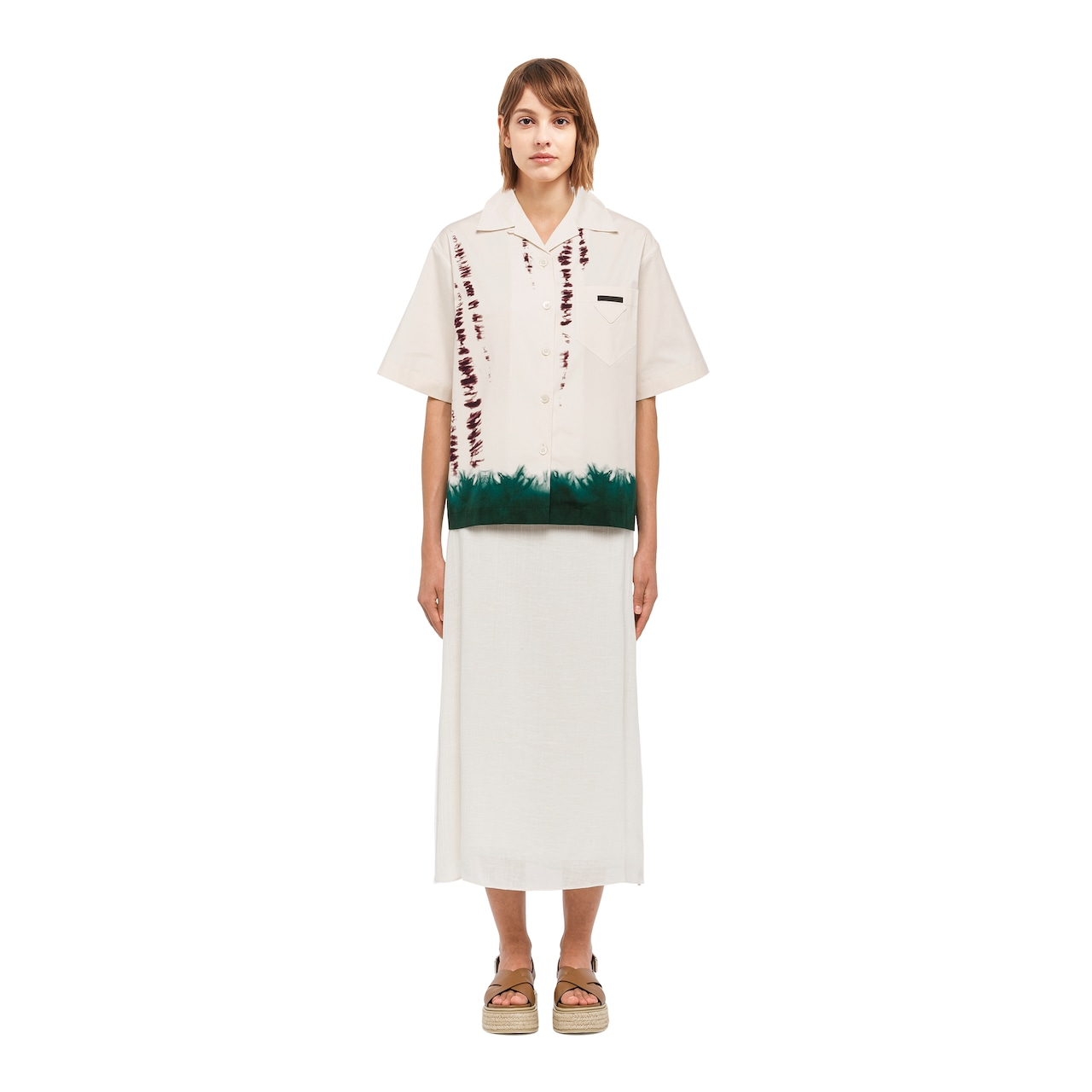 Prada Stretch cotton poplin shirt 2