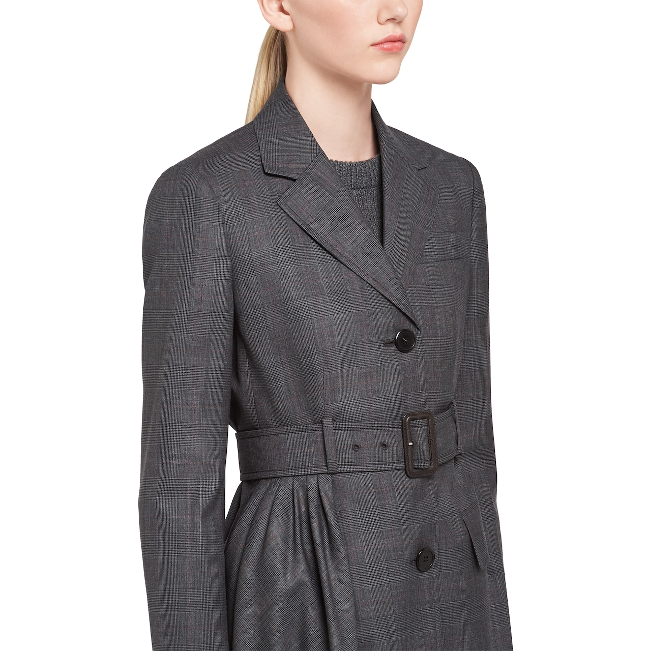 Prince of Wales checked jacket