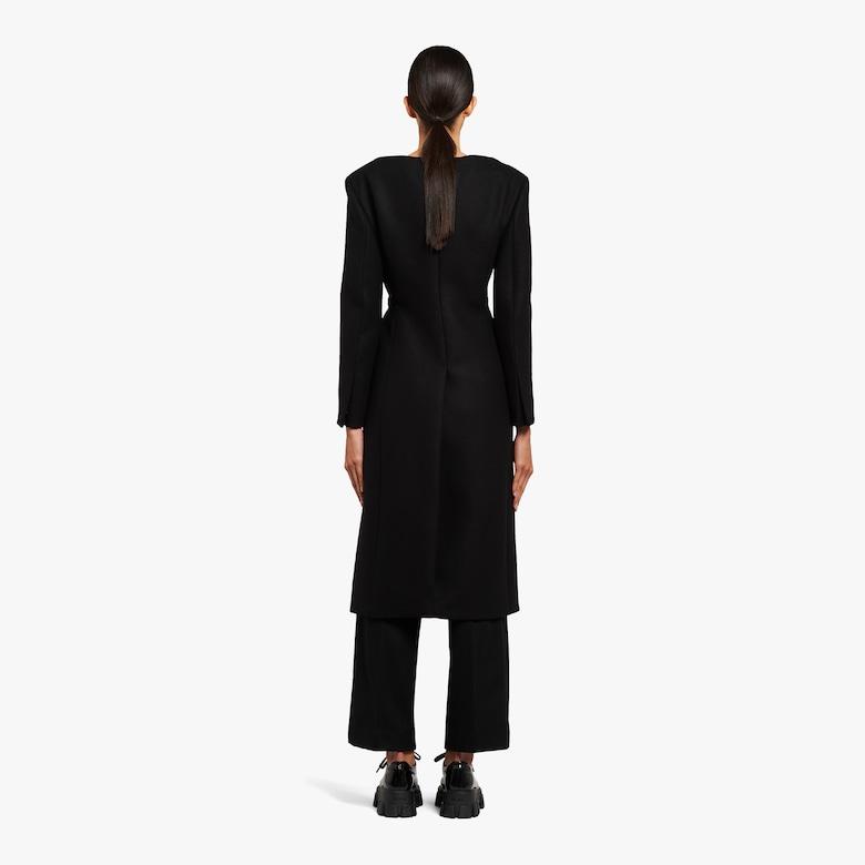 Double cloth coat