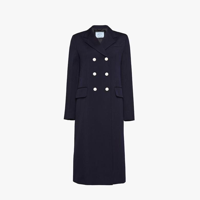 Prada Wool gabardine Coat - Woman