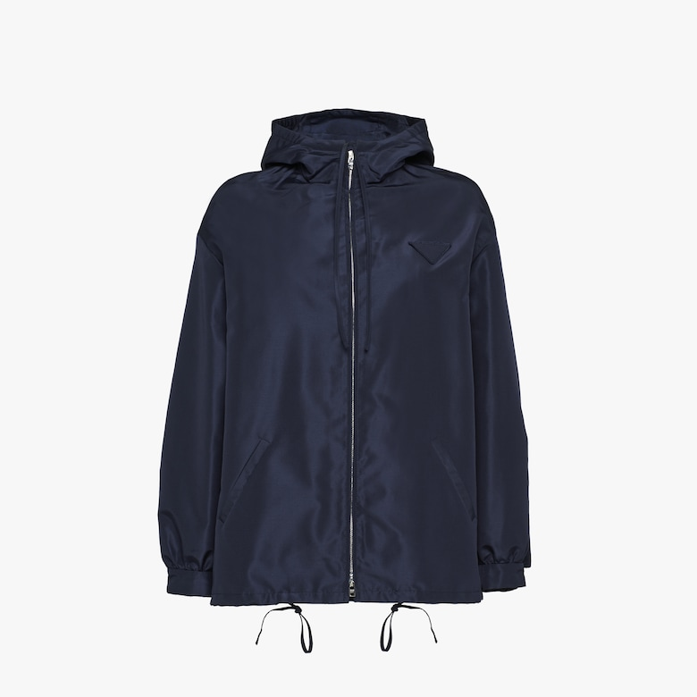 Prada Silk faille caban jacket - Woman