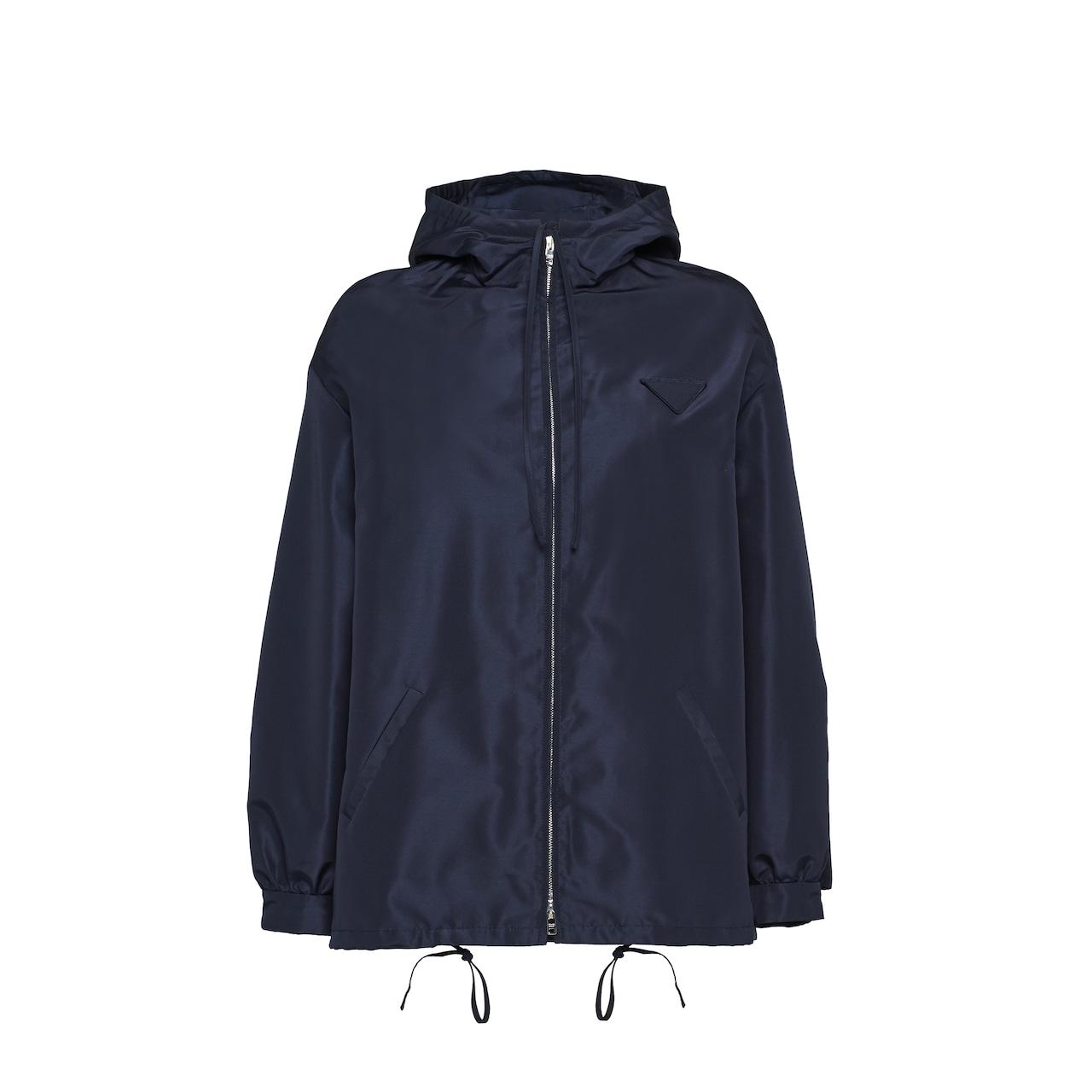 Prada Silk faille caban jacket 1