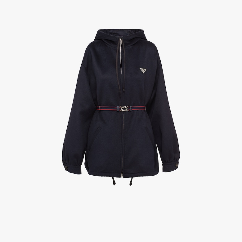 Prada Cashgora caban jacket - Woman