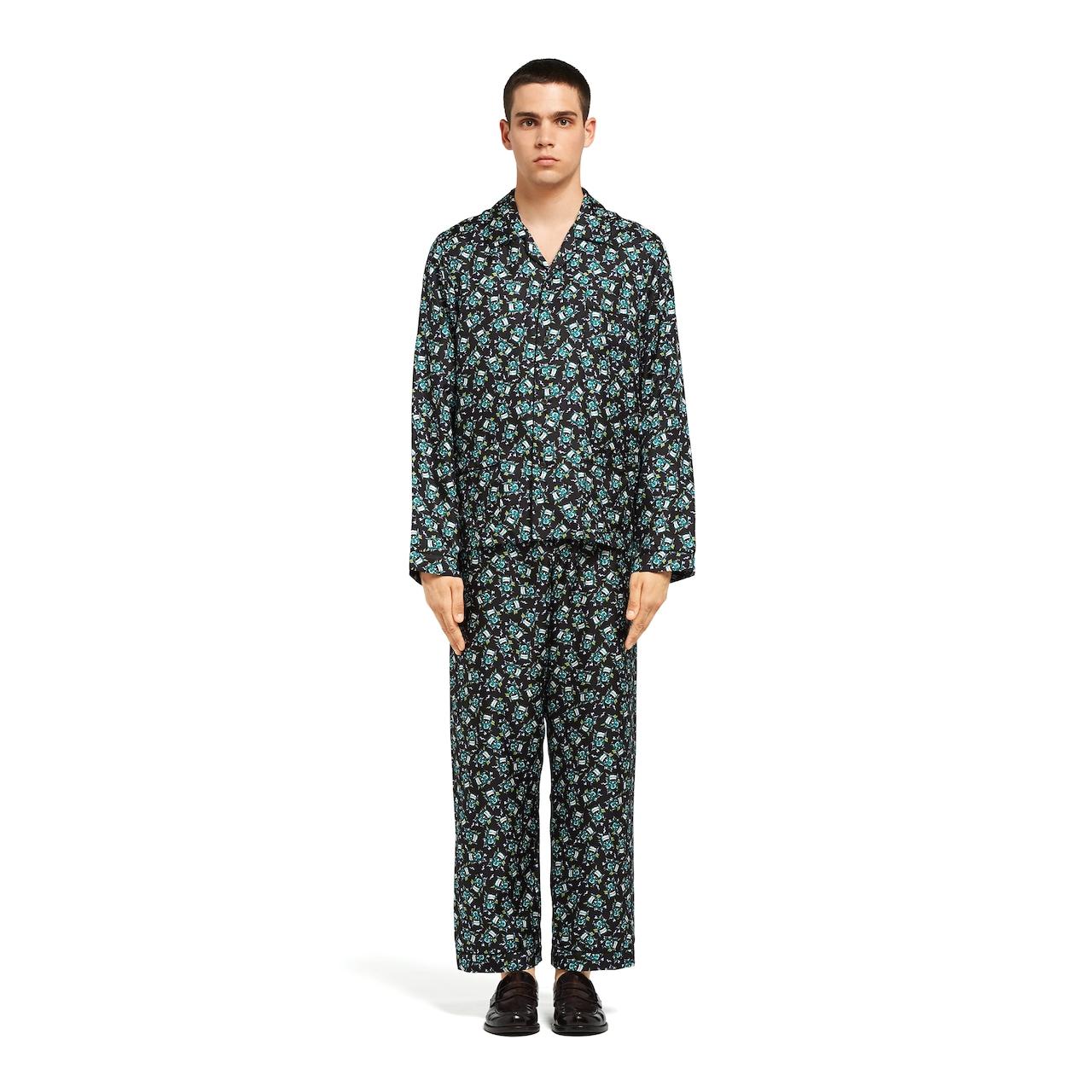 Prada Silk twill pajamas 2