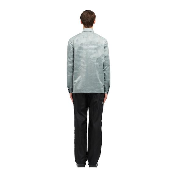 Prada Invites nylon gabardine shirt