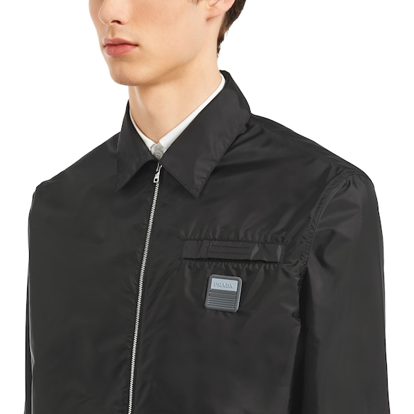 Prada - technical nylon shirt - 5