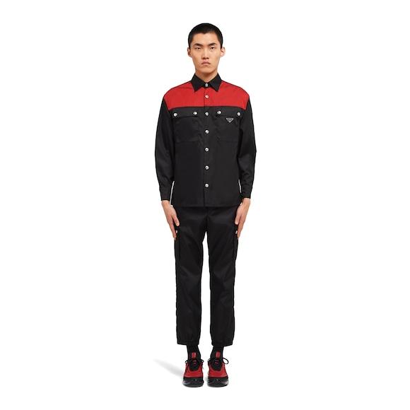 Prada Nylon gabardine shirt 3