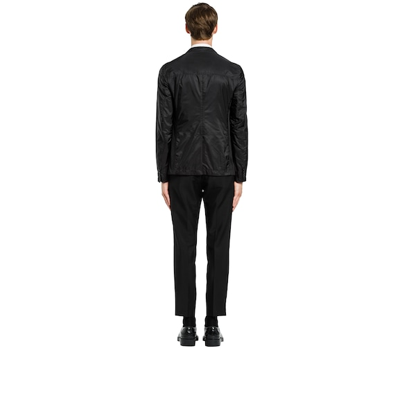 Technical nylon jacket