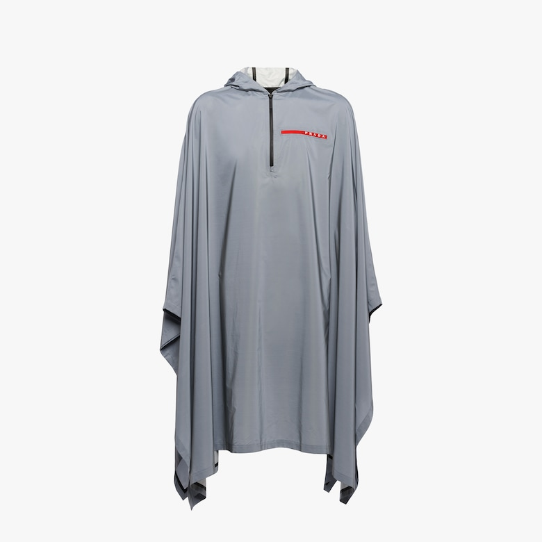 Reflective nylon cape