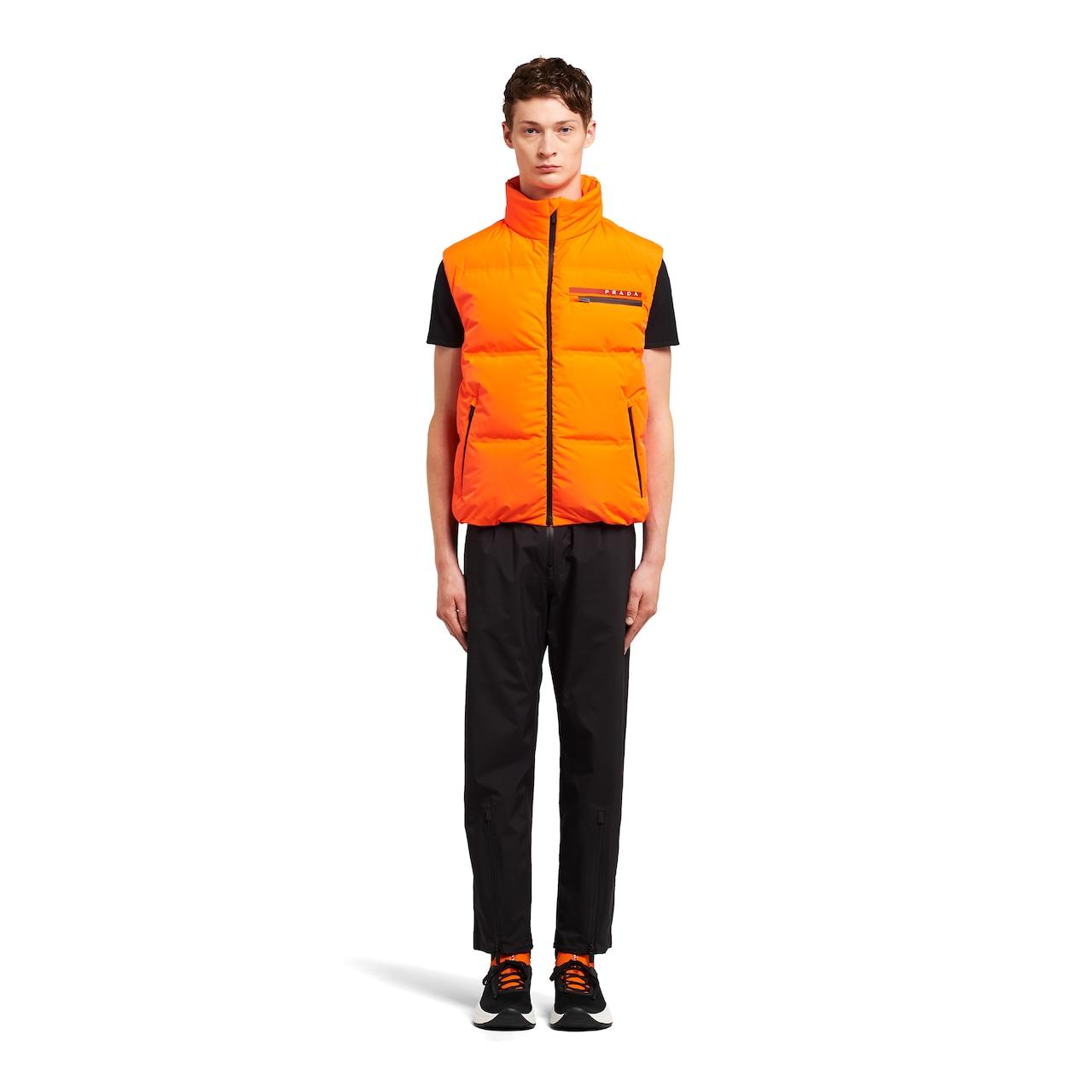 Prada Sleeveless LR-HX017 nylon puffer jacket 2