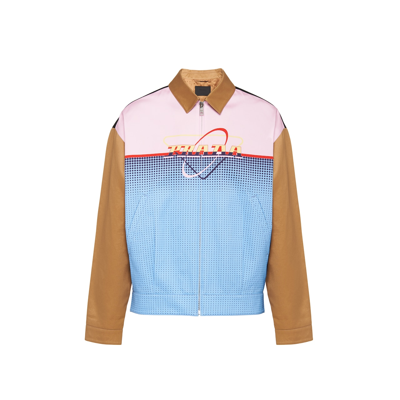 Prada Cotton chino jacket with print 1