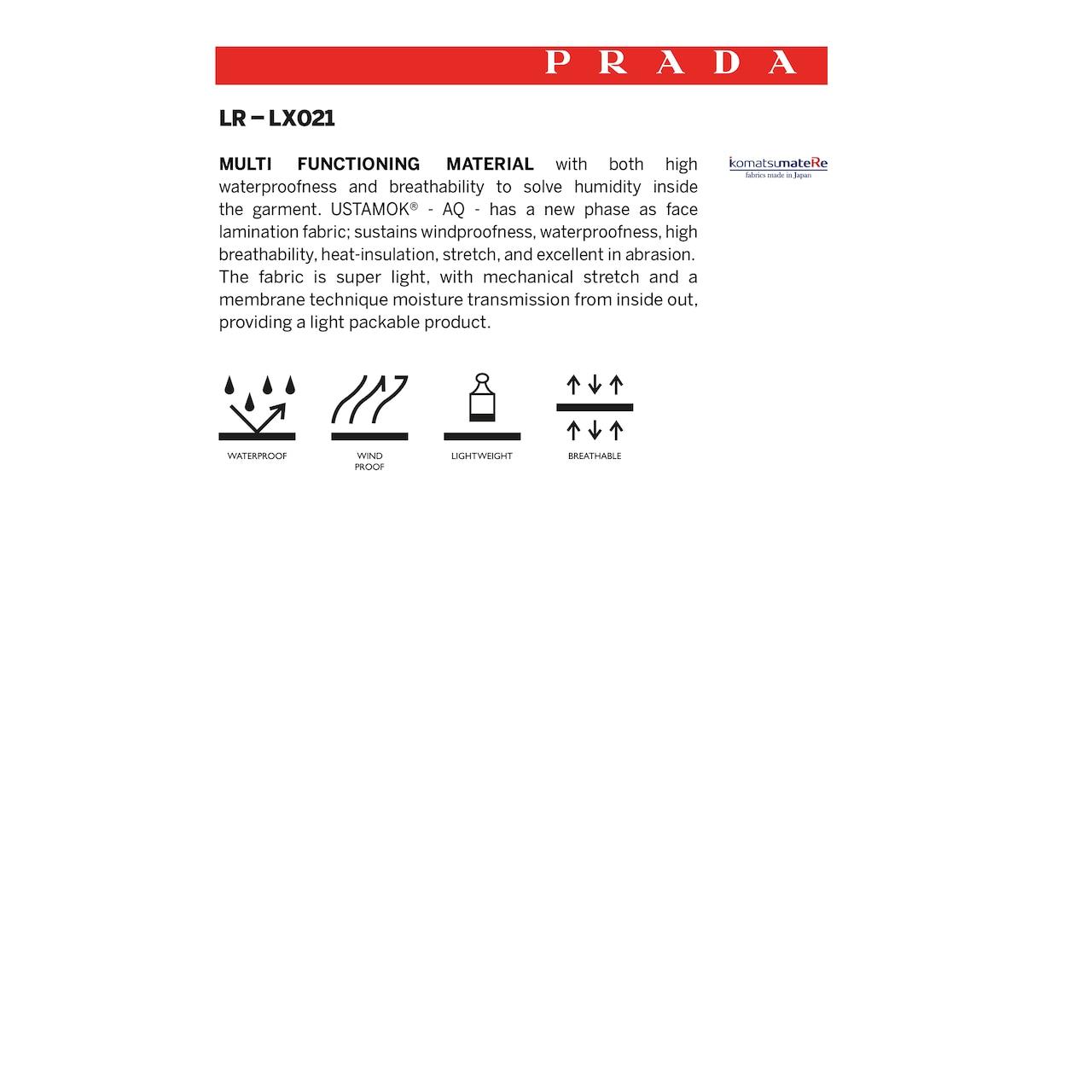 Prada LR-LX021 尼龙外套 6