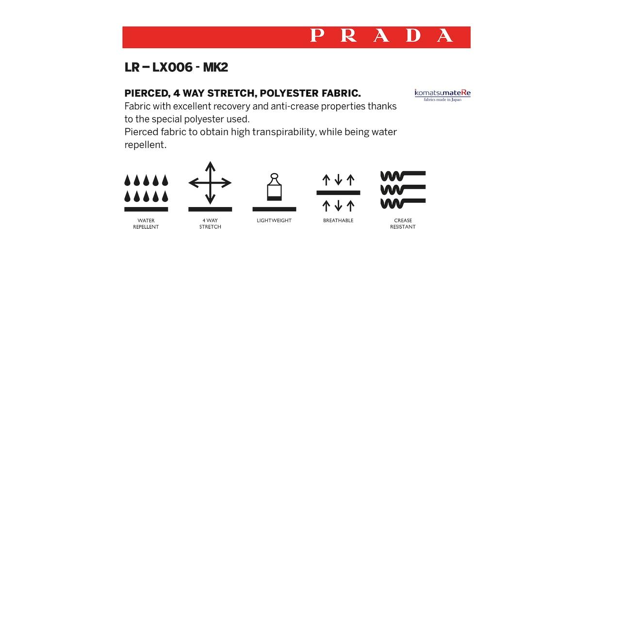 Prada LR-LX006-MK2 弹力织物夹克 6