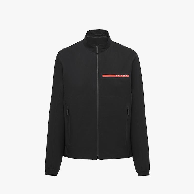 Prada LR-LX004-MK2 stretch technical fabric blouson jacket - Man